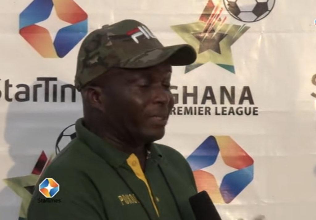 2020/21 Ghana Premier League: Ebusua Dwarfs coach Ernest Thompson-Quartey bemoans poor officiating in loss against Eleven Wonders