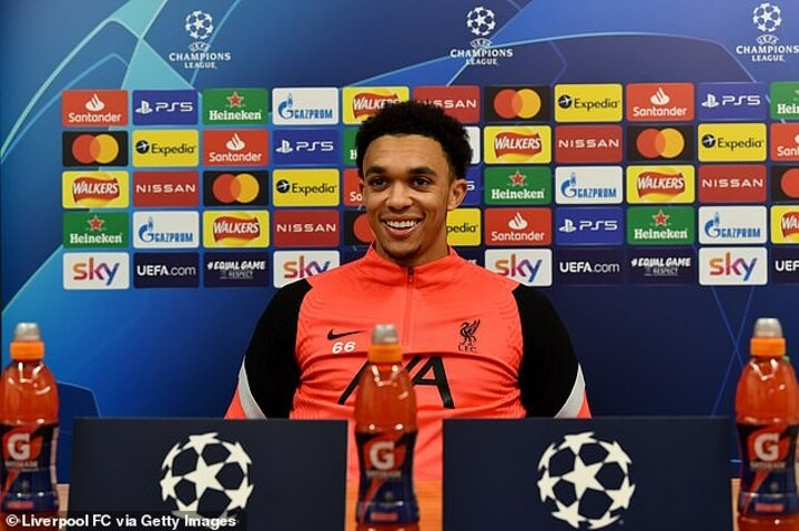 trent alexander arnold insists liverpool are wary of atalanta attack ahead of champions league clash ghana latest football news live scores results ghanasoccernet trent alexander arnold insists