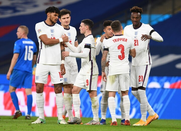 England 4-0 Iceland: Foden scores brace as Three Lions shine at Wembley