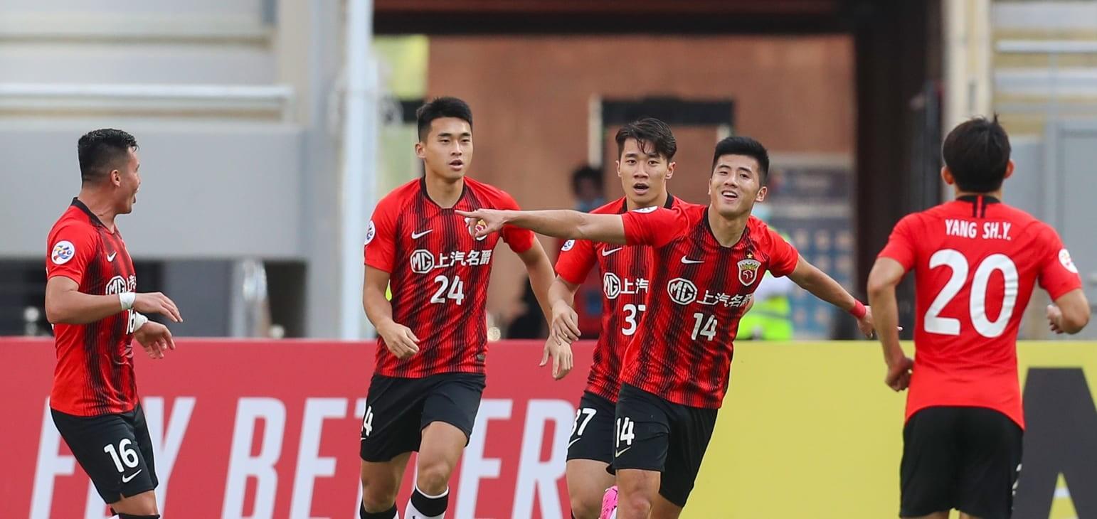 Li Shenglong stars as Shanghai SIPG defeat Sydney FC in AFC Champions League opener    Football   News   AFC Champions League 2020