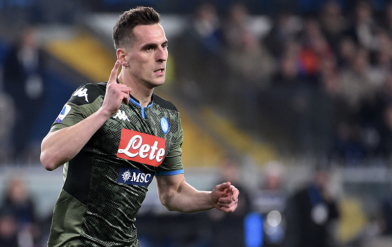 Inter hold opening talks with Milik agent