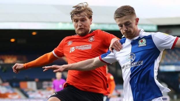 Luton & Blackburn settle for point each