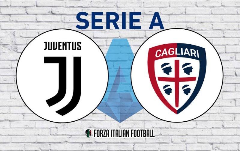 Juventus v Cagliari: Official Line-Ups
