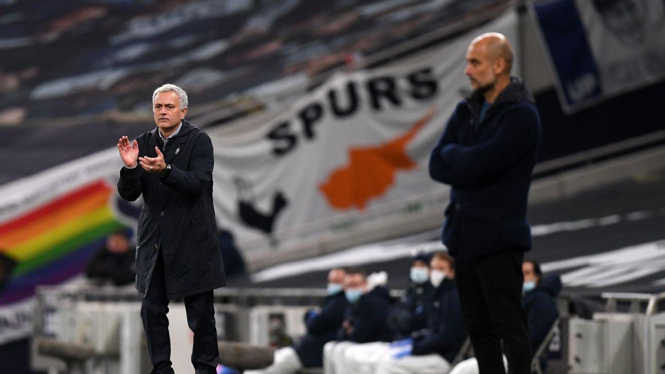 Spurs stun Man City to re-ignite Mourinho-Guardiola rivalry