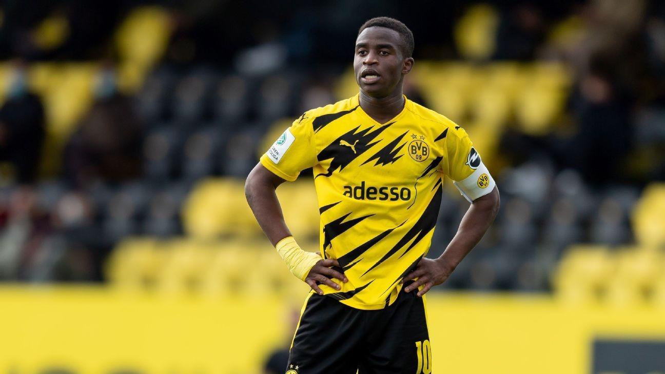 BVB rookie, 16, Bundesliga's youngest ever