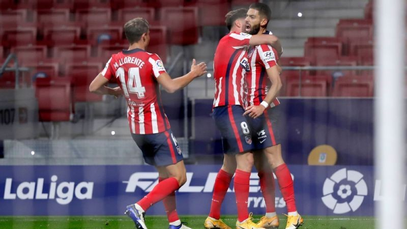 Atletico beat Barcelona 1-0 in La Liga game of the weekend