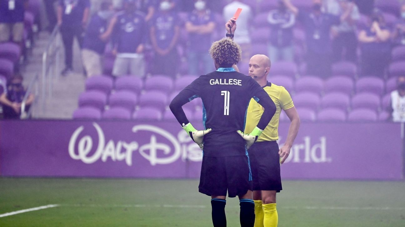 MLS referees defend calls in Orlando's chaotic win