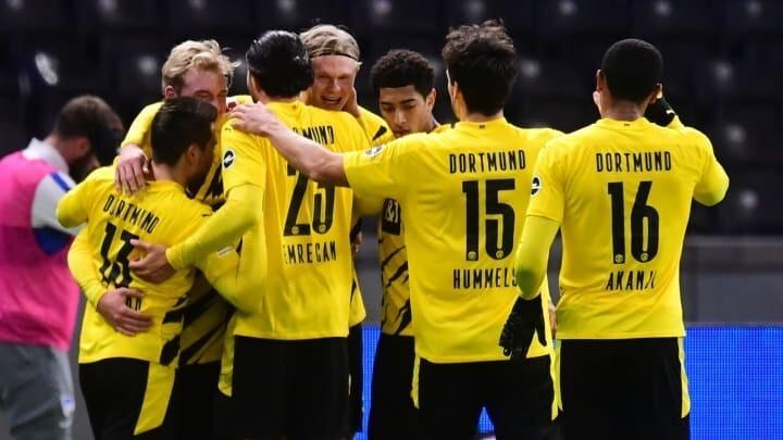Hertha 2-5 Dortmund: Haaland hits four as five-star Dortmund crush Hertha Berlin