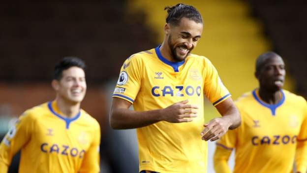 Calvert-Lewin scores twice as Everton beat Fulham