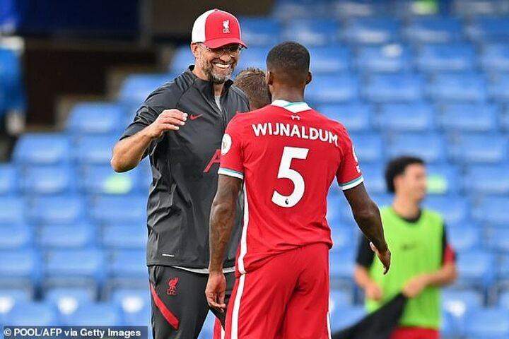 Klopp and injury-ravaged Liverpool depend on Wijnaldum more than ever