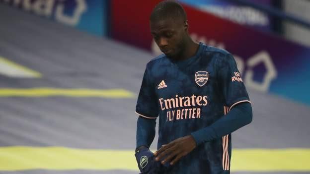 Pepe sent off as Arsenal hold Leeds