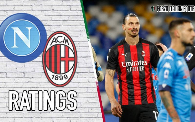AC Milan Player Ratings v Napoli: Zlatan at it again