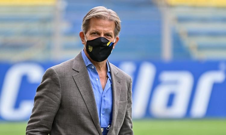 Parma president Krause: No more 3-5-2, from here we attack
