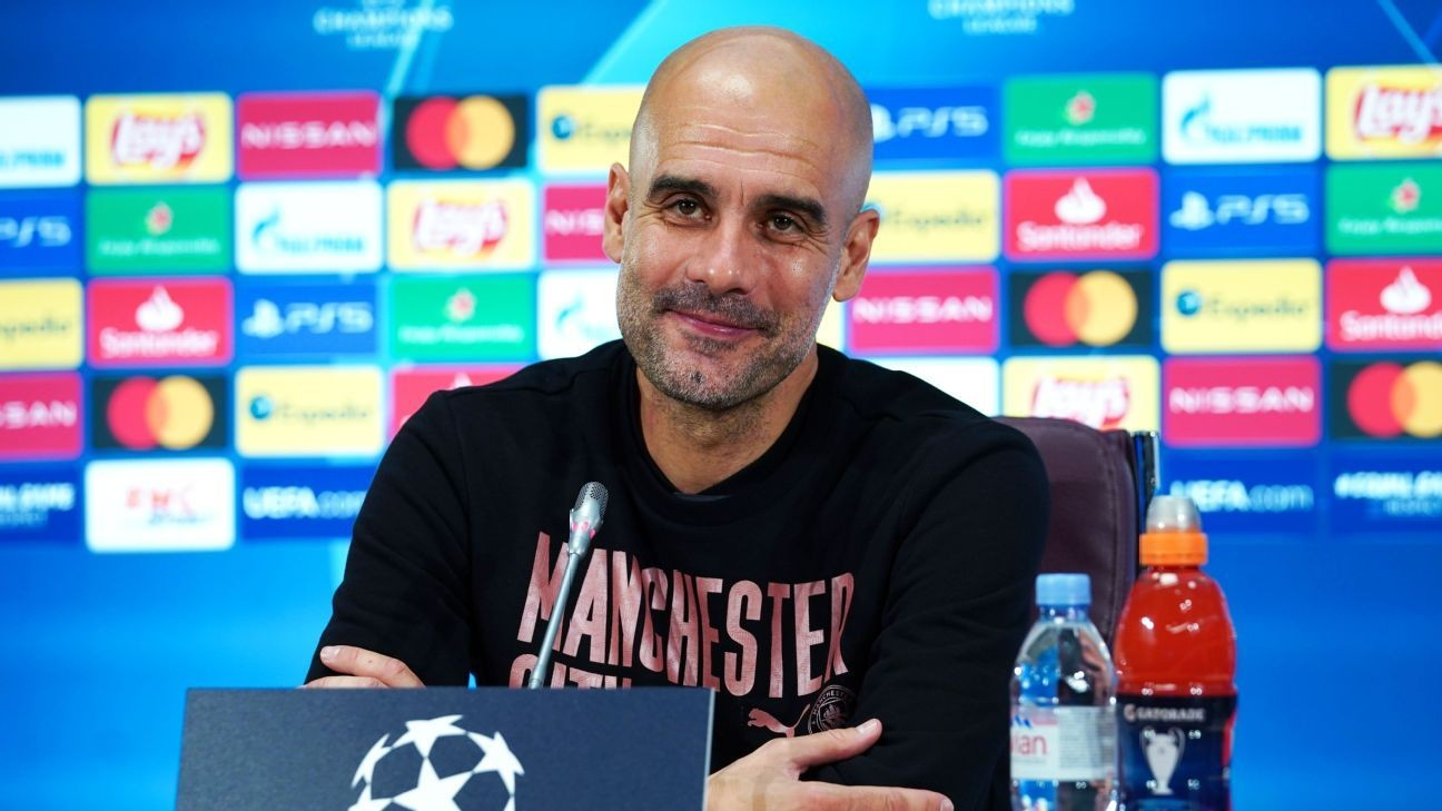 Guardiola has 'good feeling' about CL hopes