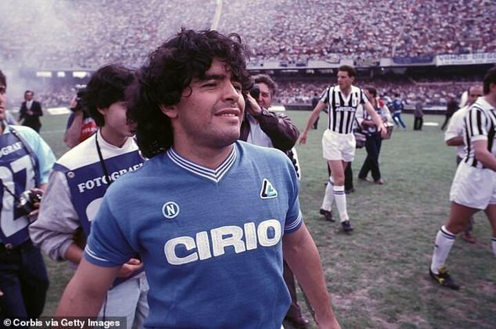 Napoli consider re-naming San Paolo Stadium after Diego Maradona