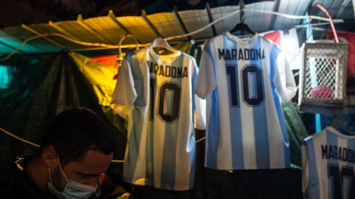 Maradona's last World Cup goal was in the United States