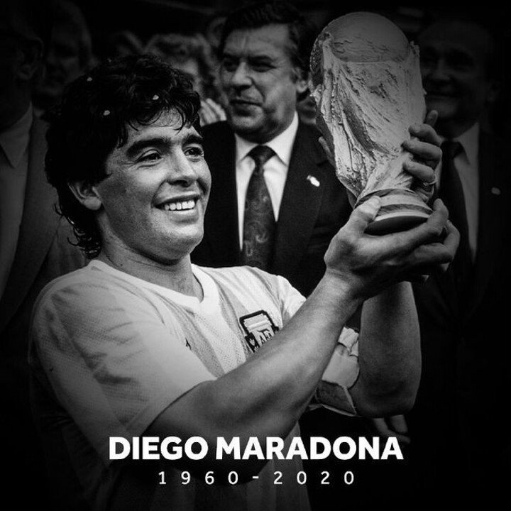 Football legend Diego Maradona has passed away at the age of 60