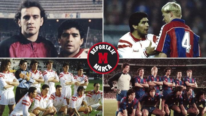 Maradona's teammates in Spain remember the legend