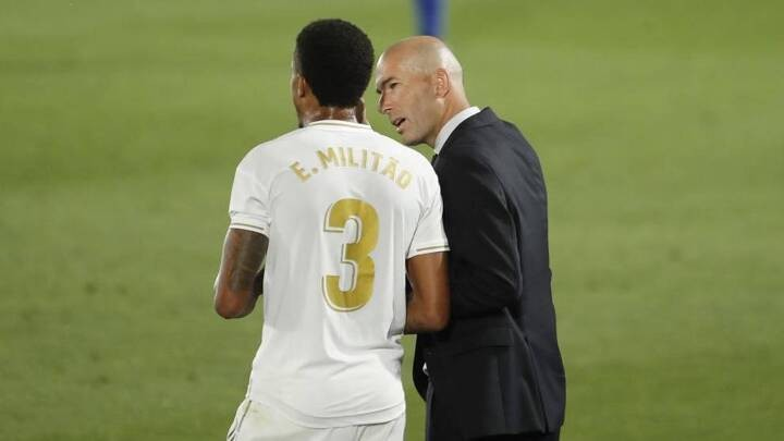 Militao returns to Zidane's squad
