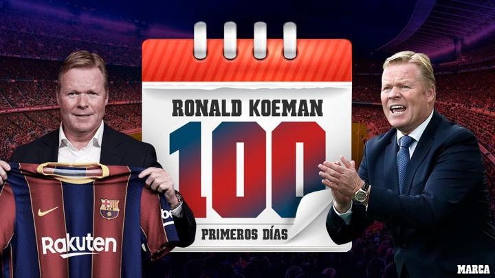 Barcelona's 100 days with Koeman