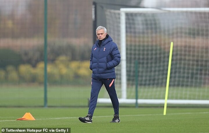 Spurs boss Mourinho is back at Stamford Bridge stoking the rivalry with his old mucker Frank Lampard