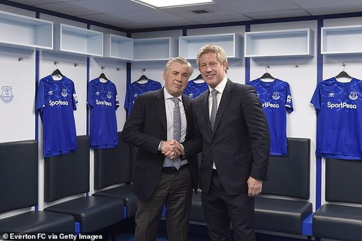 AHEAD OF THE GAME: Everton future in the balance for technical director Marcel Brands