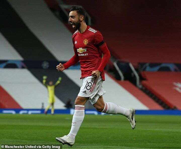 Bruno Fernandes has missed just TWO Man United games since joining