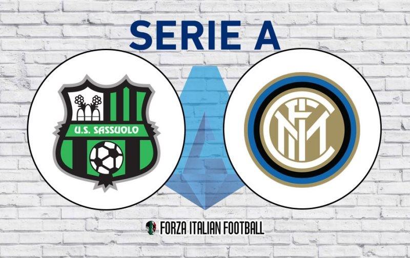 Sassuolo v Inter: Official Line-Ups