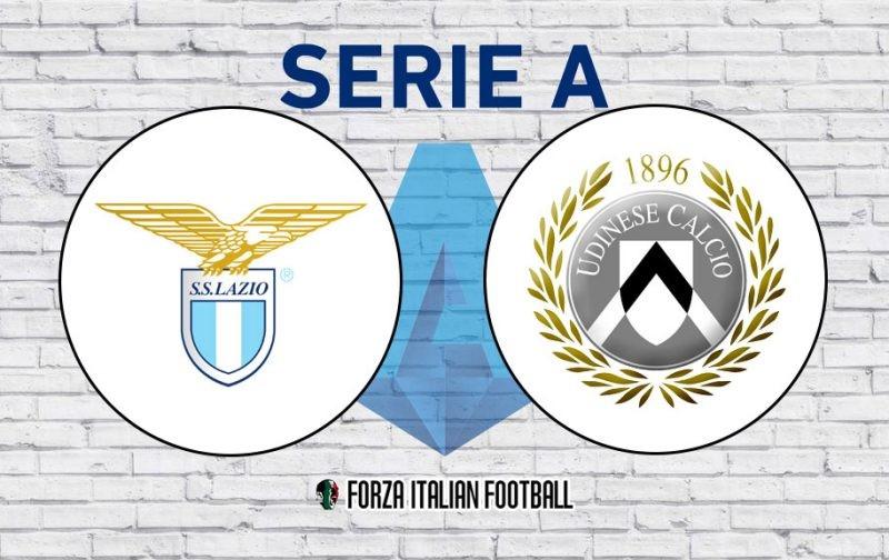 Serie A LIVE: Lazio v Udinese