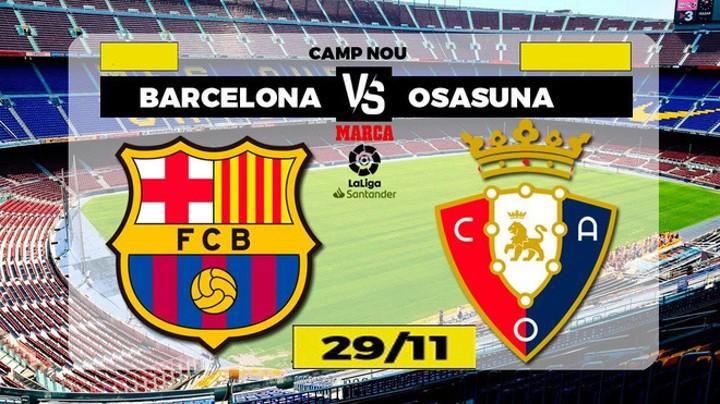 Barcelona vs Osasuna: Red alert