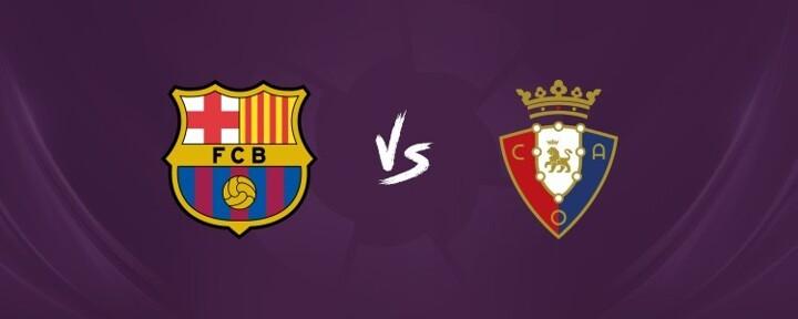 Barcelona vs Osasuna LINE-UPS: Messi leads, De Jong & Braithwaite start