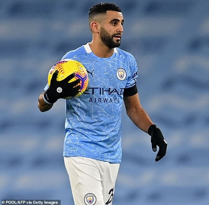 Riyad Mahrez admits Manchester City's woes in front of goal have been 'frustrating'