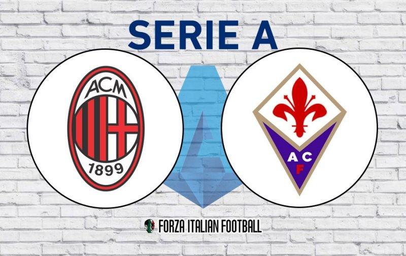 AC Milan v Fiorentina: Official Line-Ups