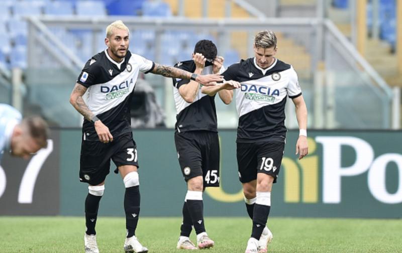 Udinese overcome Covid outbreak to earn shock win at Lazio