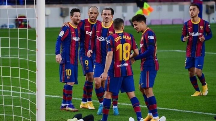 Braithwaite keeps up his fine form for Barcelona