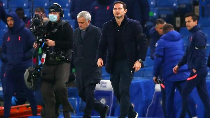 Tottenham 'just a pony' in EPL title race? Lampard disagrees with Mourinho
