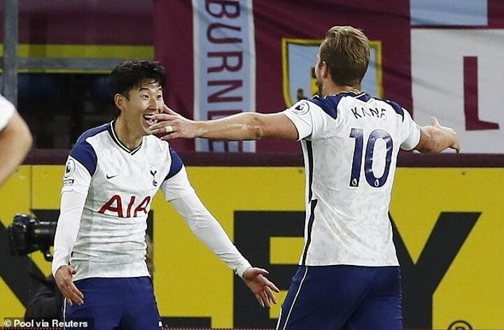 Jermain Defoe says the Harry Kane and Son Heung-min partnership is the best in world football