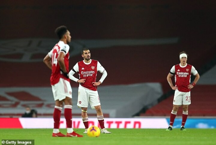 MARTIN SAMUEL: Arsenal are shooting for the moon and crash-landing on garden shed