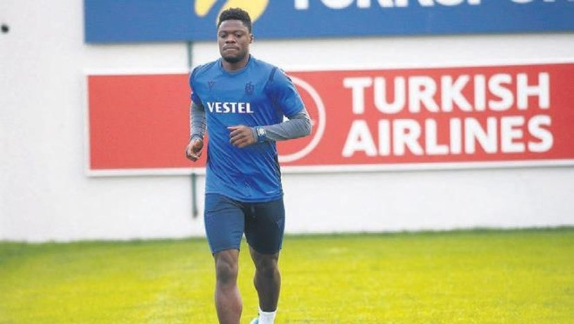 Ghana striker Caleb Ekuban misses Trabzonspor draw with Rizespor due to muscle injury