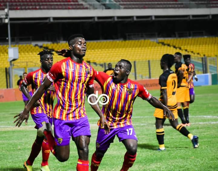 Kwadwo Obeng Jnr: Hearts of Oak prodigy aims to score more goals