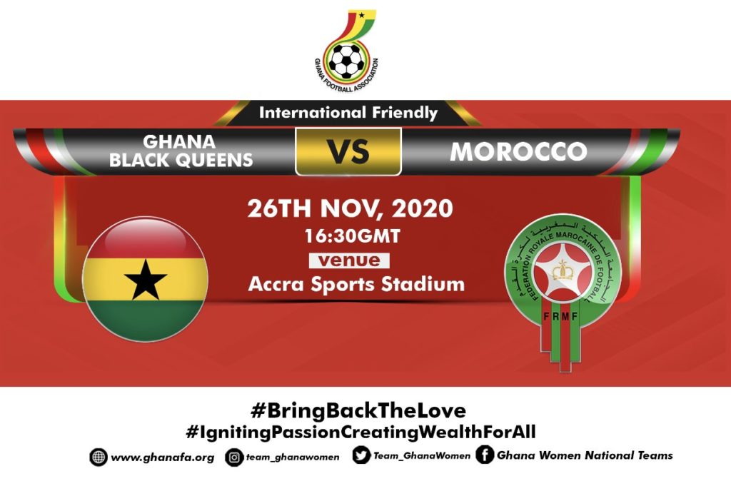 WATCH LIVE: Ghana vs Morocco (International friendly)