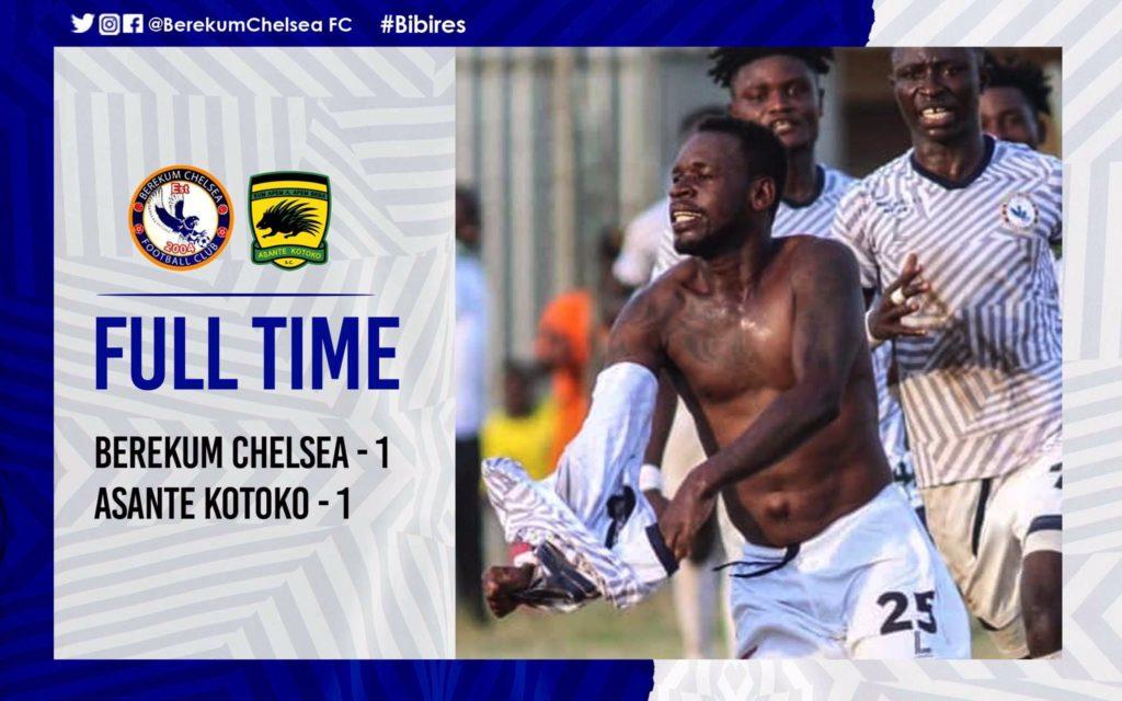 Berekum Chelsea hero Emmanuel Clottey apologizes to Asante Kotoko for provocative celebration