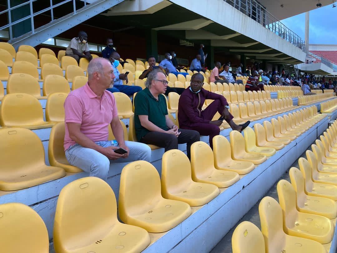 PHOTOS: C.K Akonnor, FA technical director Berhard Lippert in attendance as Hearts host AshantiGold