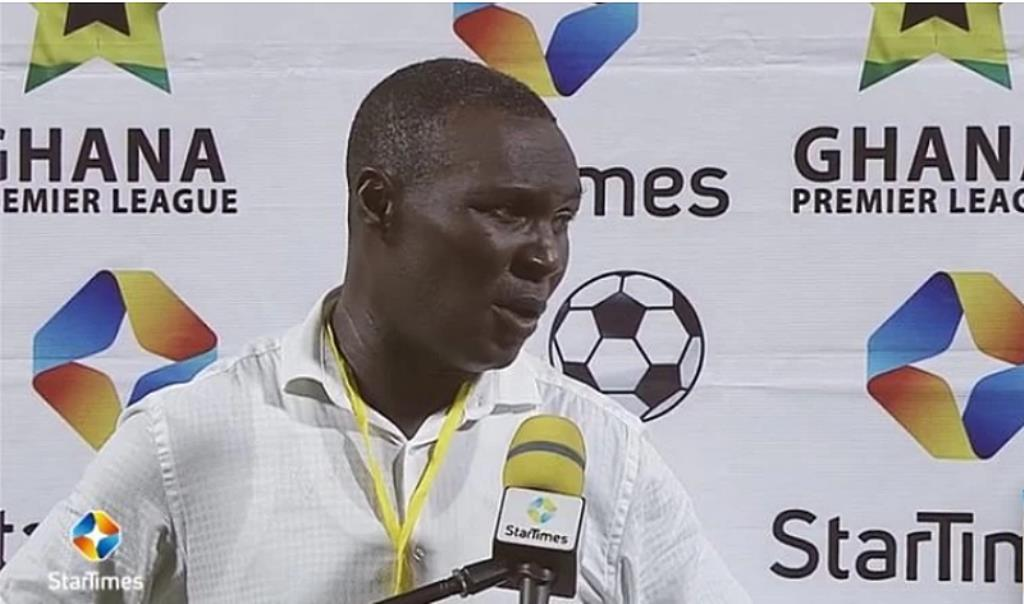 Hearts coach Edward Odoom fumes after defeat to Inter Allies