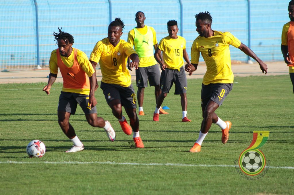 2021 AFCON Qualifiers: Black Stars complete training ahead of Sudan match in Omdurman