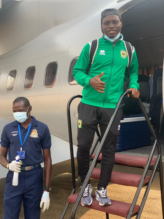 Caf Champions League: Kotoko touch down in Mauritania ahead of FC Nouadhibou clash