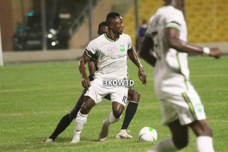 Joseph Esso set to haunt Hearts of Oak on return to Accra Sports Stadium