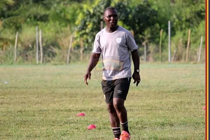 Coach Edward Odoom vows to find antidote for Hearts of Oak defensive leakage