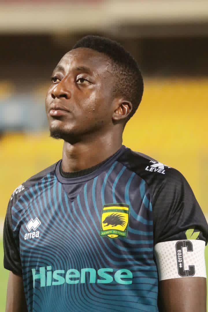 Goalkeeper Felix Annan promises to return to Asante Kotoko