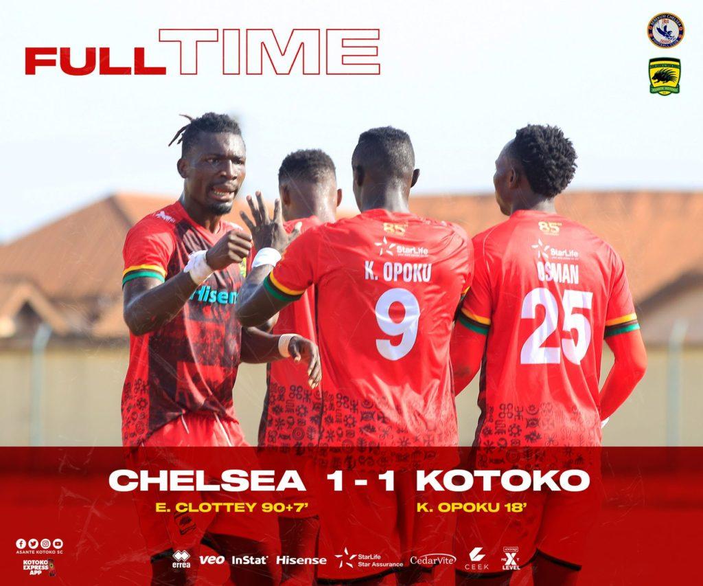 2020/21 Ghana Premier League: Habib Mohammed was Man of the Match in Berekum Chelsea-Kotoko clash